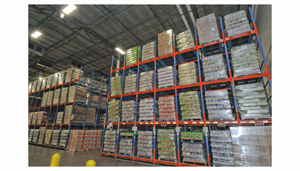 Sunny Delight chilled storage area