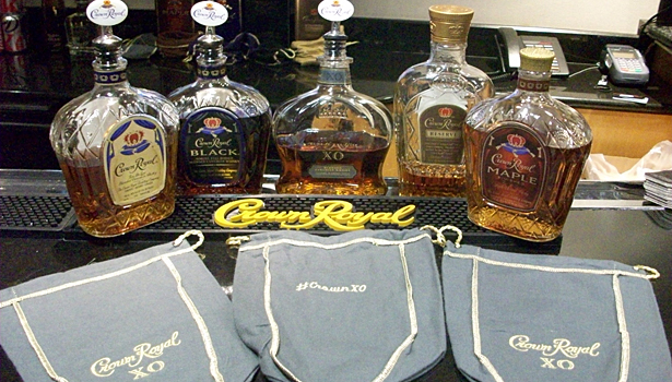 Crown Royal lineup