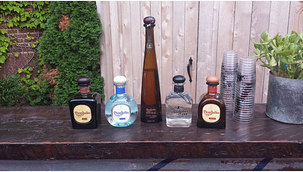 Tequila Don Julio lineup