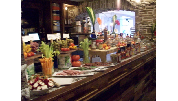 Davanti Enoteca Bloody Mary bar
