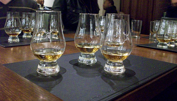 Glenfiddich whiskies