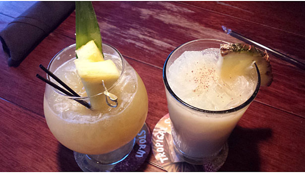 Painkiller and Goombay Smash at Bahama Breeze