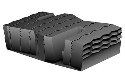 Matrix Siping Tread Block