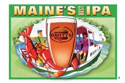 Maine's Best IPA Six Pack Design
