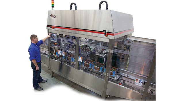 Delkor Systems case packer