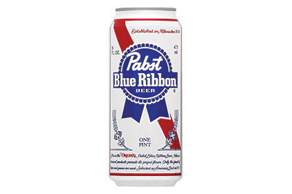 PBR  Pabst Blue Ribbon Tall Can