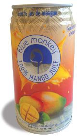Blue Monkey Mango Juice