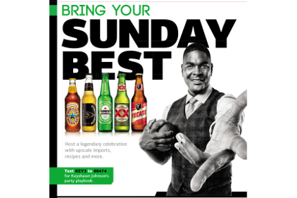 Heineken Bring Your Sunday Best retail promotion