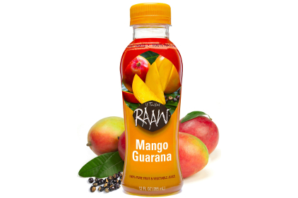 Raaw Mango Guarana juice