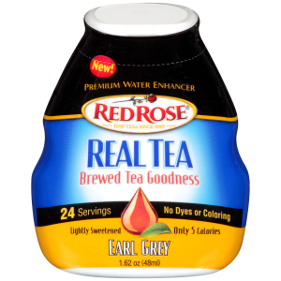 Red Rose Real Tea liquid concentrates