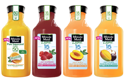 Minute Maid juice drinks