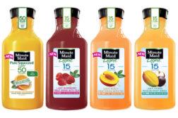 Minute Maid juice drinks