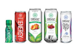 New Steaz packaging