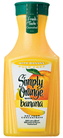 Simply Orange and Simply Lemonade blends