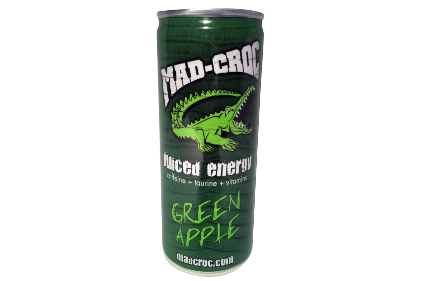 Mad-Croc Green Apple Juiced Energy