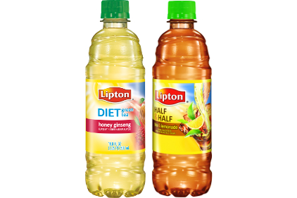 Lipton Diet Green Tea Honey Ginseng and Lipton Half & Half Tea & Lemonade