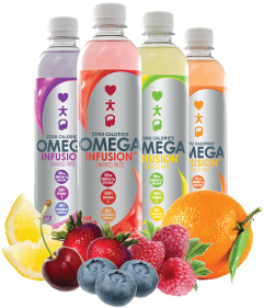 Omega Infusion Enhanced Water