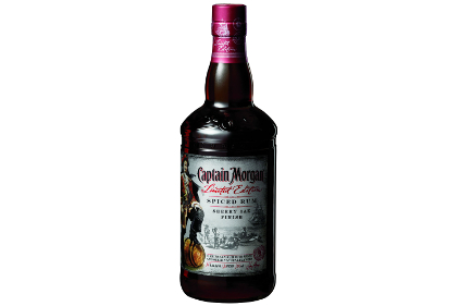 Captain Morgan Sherry Oak Finish Spiced Rum
