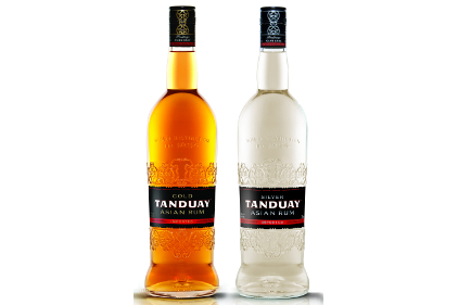 Tanduay Gold and Silver Asian Rums