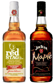 Red Stag by Jim Beam Hardcore Cider and Jim Beam Maple