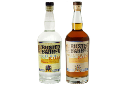 Busted Barrel Silver and Dark Rums
