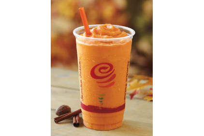 Pumpkin Smash smoothie