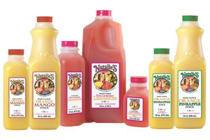 Natalie's Hand Crafted juice blends