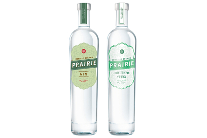 Prairie Organic Gin and Cucumber Flavored Organic Vodka