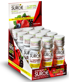 Body Glove Surge All Natural Energy Shot