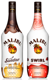 Malibu Sundae and Malibu Swirl