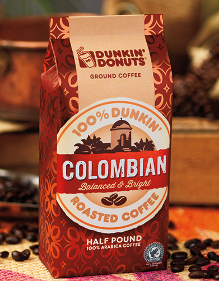 Dunkin Single Origin coffee