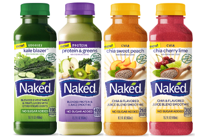 Naked juice varieties