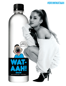 Wat-aah! partners with pop artist Ariana Grande