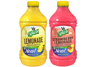 V8 Splash Lemonades