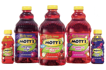 Mott's juice drinks