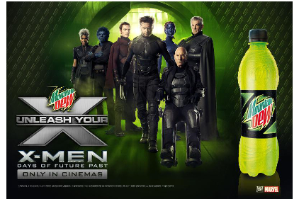 Mountain Dew X-Men