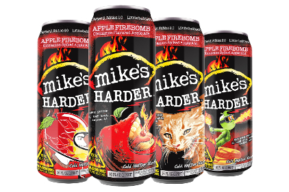 Mikes Harder Apple Firebomb