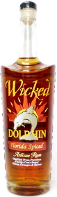 Wicked Dolphin Florida Spiced Artisanal Rum