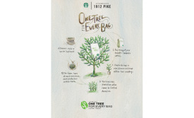 Starbucks One Tree for Every Bag