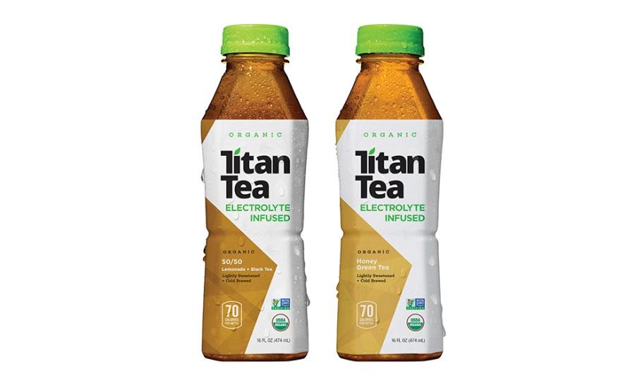 Titan Tea Honey Green Tea and 50/50 Lemonade & Black Tea   2015-10