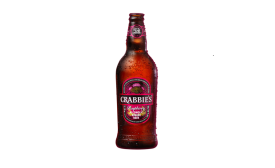 Crabbies raspberry ginger beer
