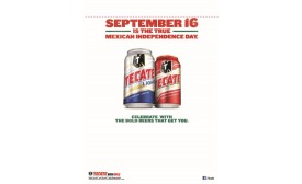 Tecate cost card