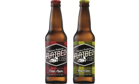 Flatbed Apple and Pear Ciders