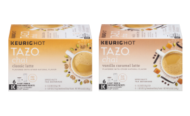 Tazo latte k-cups
