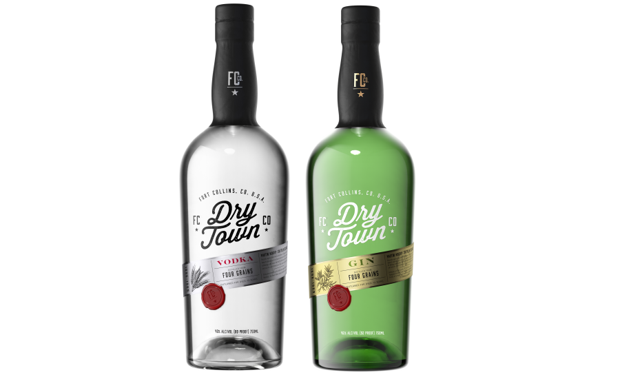 Dry Town Gin, Vodka