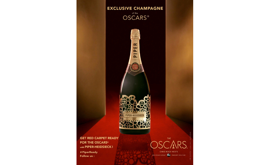 Piper-Heidsieck 88th Oscars bottle