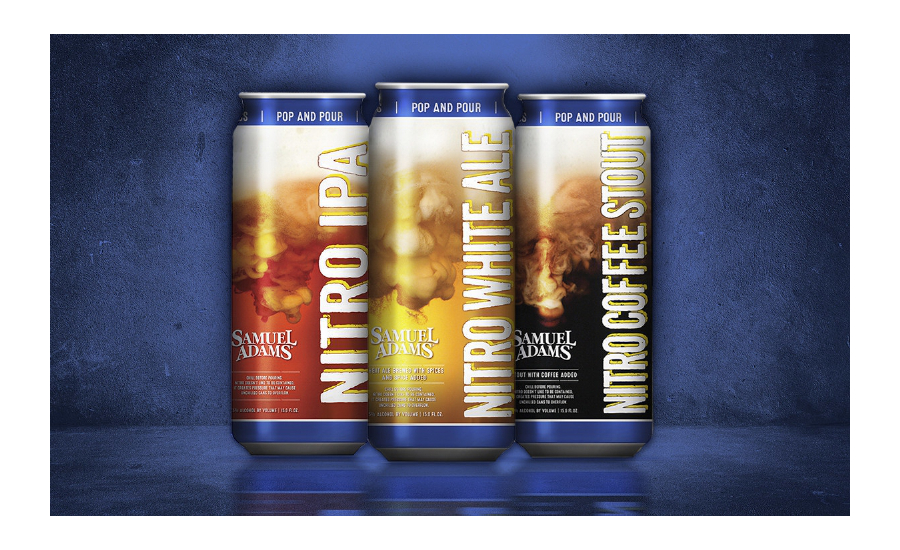 Boston Beer Samuel Adams Nitro Beers