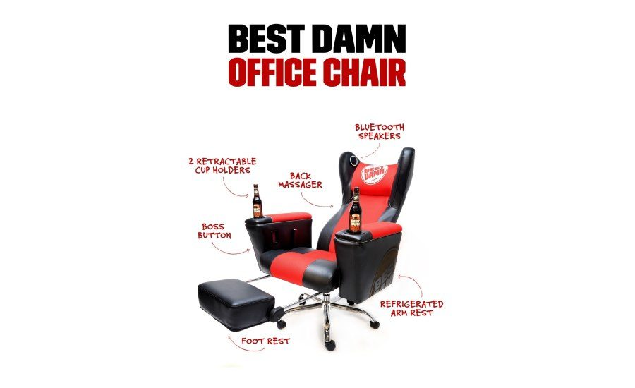 office chair with speakers. Best Damn Brewing Co. Unveils Innovative Beer Gear   2016-03-14 Beverage  Industry Office Chair With Speakers A