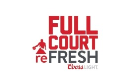 Coors Light Court reFRESH logo