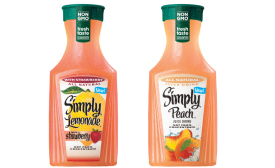 Simply Straw Lemonade, Peach